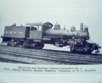 Marysville and Northern Geared Loco No.2