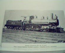 Georgia Locomotive No. 60! Photo Repro!