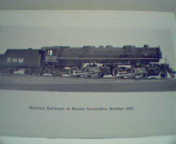 National Rail of Mexico Loco #2035!