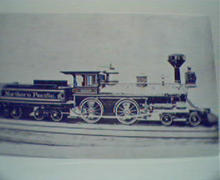 Northern Pacific RailRoad No. 13!Photo Repr