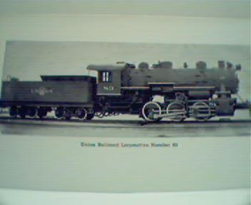 Union Rail Locomotive #83! Photo Repro!