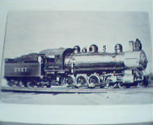 Southern Pacific  12 Wheel Locomotive!Photo!