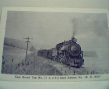 East Broad Top No. 17 Locomotive!PhotoRepro!
