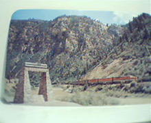 DRGW Railroad Monument on Glennwood Canyon!
