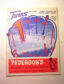 Tacoma Twins 1974 Cheney Stadium Program