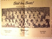 1960 Beat 'em Bucs! Paper Place Mat