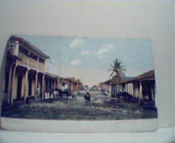 Camaguey Maralito Street Cuba!Colorized!