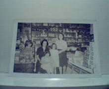 Photo of Family in General Store c1920!