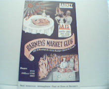Barney's Market Club Advertising Card!Color