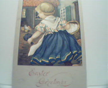 Easter Greetings with Country Girl! Color!