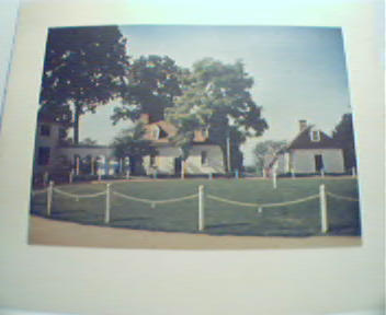 The Mount Vernon Mansion;Courtyard&Kitchen!