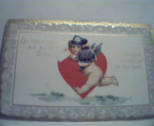 Valentines Card with Poem, and Cherub!Color