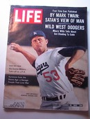 LIFE Magazine,9/28/1962,DON DRYSDALE ON COVER