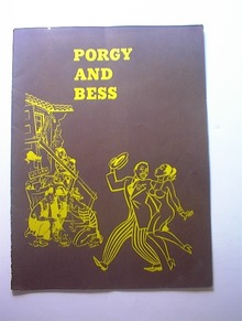 c 1950 Porgy And Bess Program