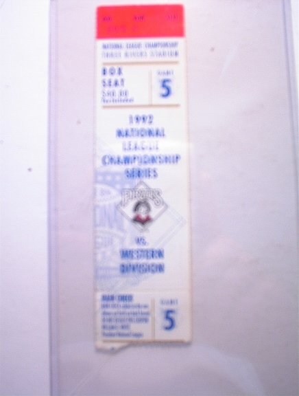 1992 National Championship Series Pirates