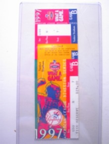 1997 American League Division Series Ticket