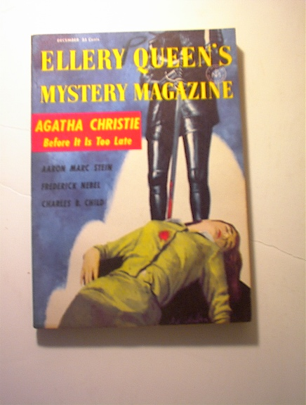 Ellery Queen's,12/1956,Agath Christie