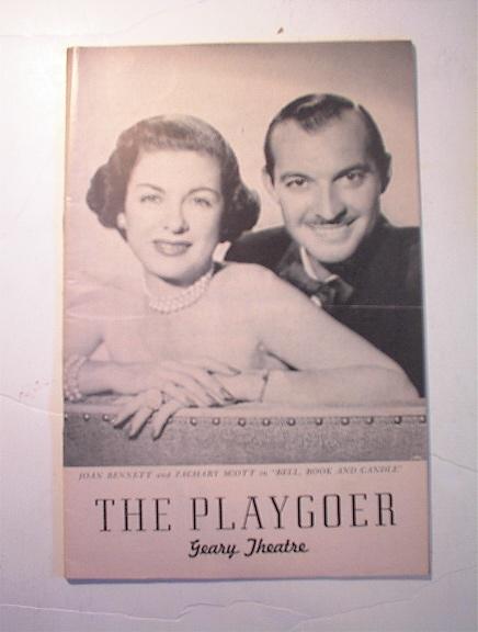The Playgoer,9/52,Joan Bennett/Zachary Scott