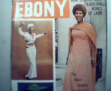 EBONY-10/74 Aretha Franklin, Ray Charles!