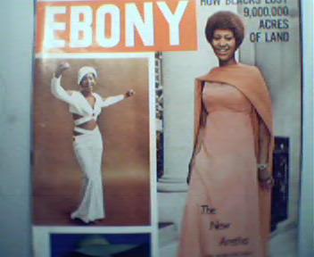EBONY-10/74 Aretha Franklin, Ray Charles!