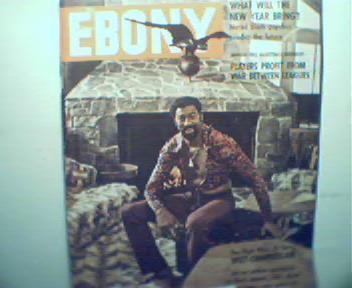 EBONY-1/74 Wilt Chamberlain,Duke Ellington!