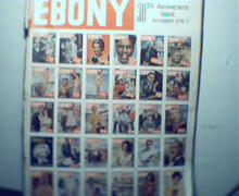 EBONY-11/75 30th Anniversary Issue! Many Cvr