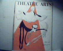 Theatre Arts-4/57 Hirschfeld Cover!More!