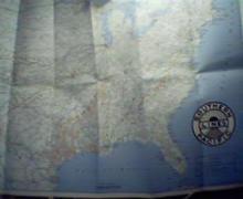 Southern Pacific Railway Lines-Rand McNally