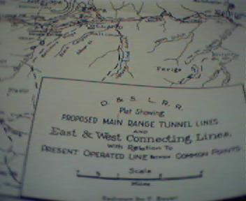 Proposed Main Range Tunnels of Denver&Salt L