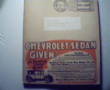 Walter Field Company Sales Catalog from 1928!