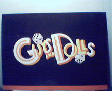 Guys and Dolls Souvenir Program from 1994 Pgh