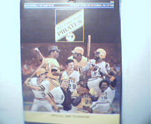 1981 Pittsburgh Pirates Official Year Book!