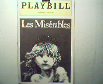 Playbill-Les Mierables!Goodbye Girl,BloodBrot