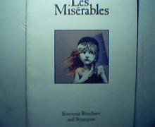 Le Miserables Souvenir Brochure and Synopsis
