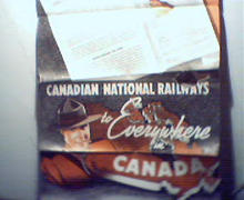 Canadian National Railways Poster Brochure