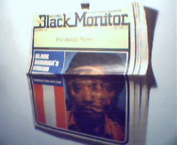 New Black Monitor from Pittsburgh News=11/76