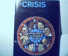 Crisis-12/76 Combat of Bigotry,American Dream
