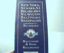 Connections for the Baltimore & Ohio R.R.!
