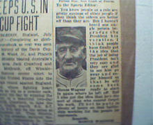 Photo and Article by Honus Wagner!