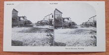 Stereoview Card-Old West - Cheyenne, Wyoming