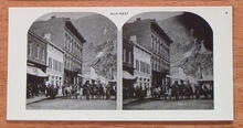 Stereoview Card - Old West View