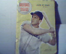 Baseball Digest 7/48 Ralph Kiner on Cover!