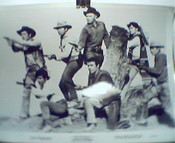 Movie Still!-Return of the Seven! c1966!