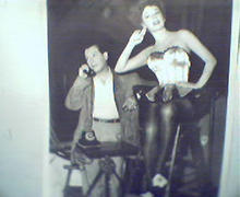 Movie Still!-Ruth Roman and Milton Berle!