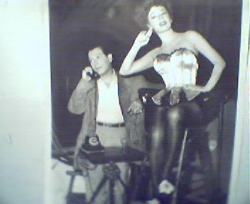 Movie Still!-Ruth Roman and Milton Berle!