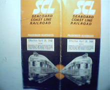 SCL Seaboard Coastline Railroad-1968!