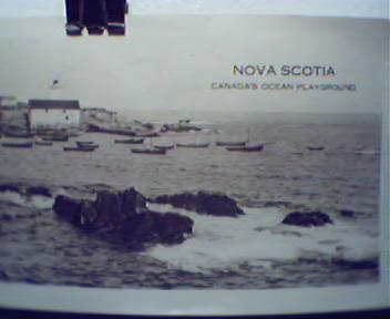 Nova Scotia Postcard Views Booklet