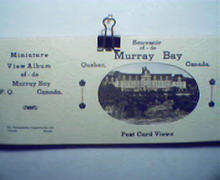 Murray Bay Souvenir Post Card Booklet!