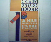 Monthly Return Tickets D London & N.E. Rail