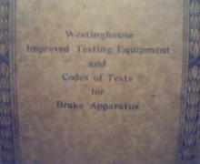 Westinghouse Testing Equipment&Codes 5039